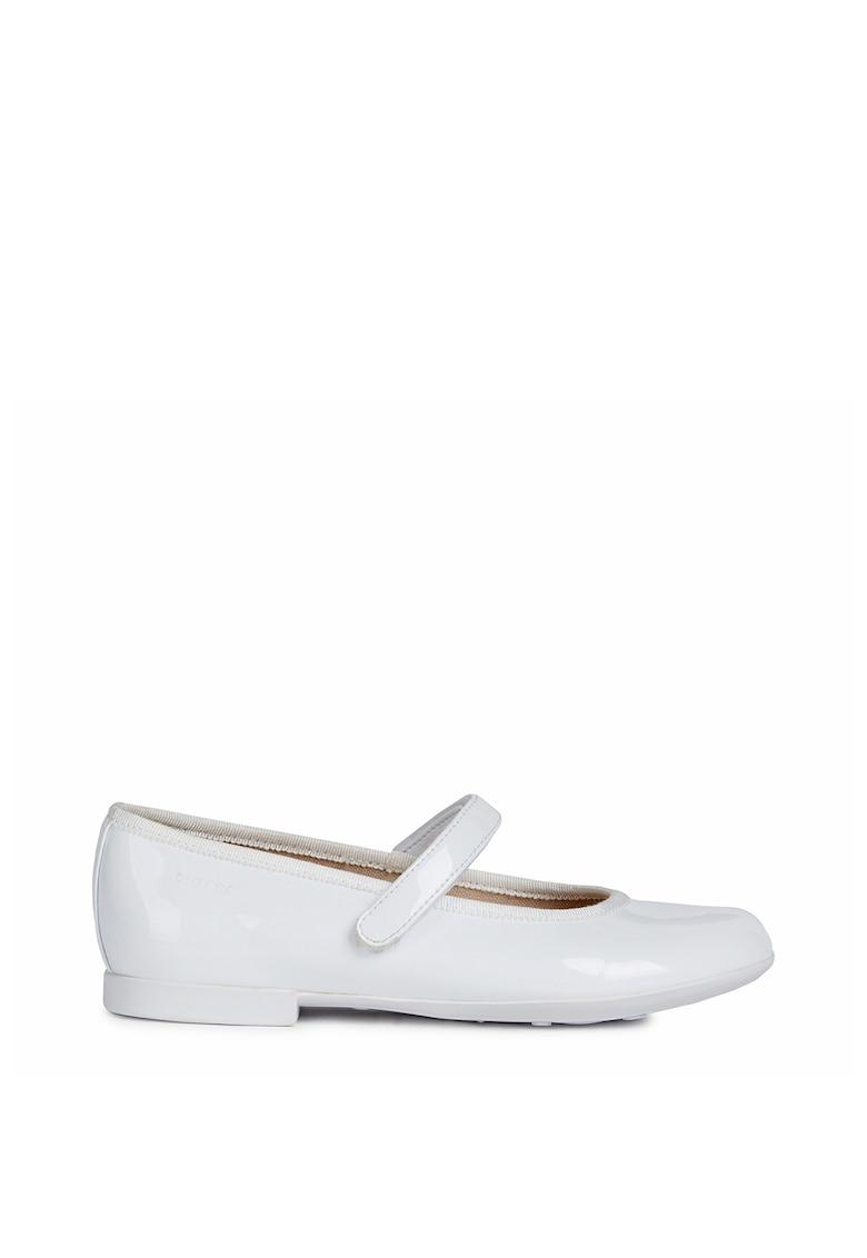 Geox Pantofi Mary Jane de piele ecologica