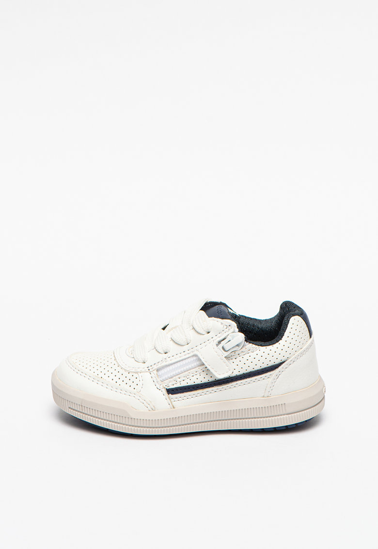 Pantofi sport din piele ecologica cu perforatii Arzach
