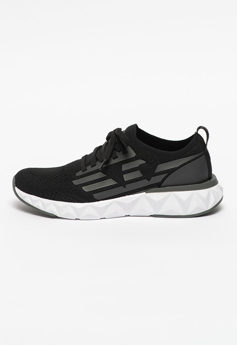 Pantofi sport slip-on cu logo