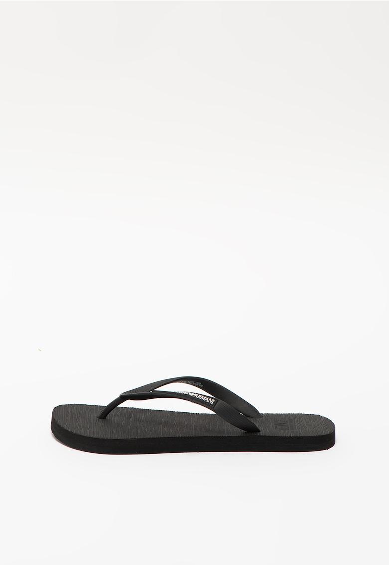 Papuci flip-flop unisex cu logo imagine