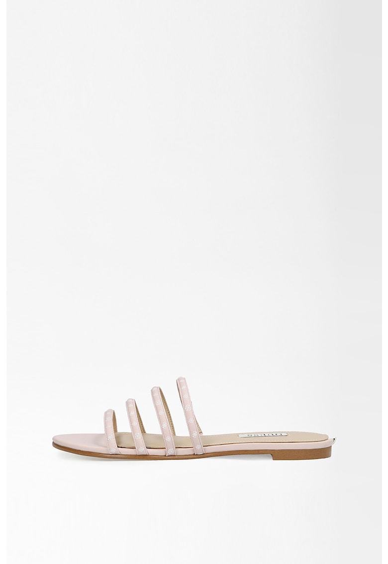 Papuci de piele ecologica Cevana imagine fashiondays.ro 2021