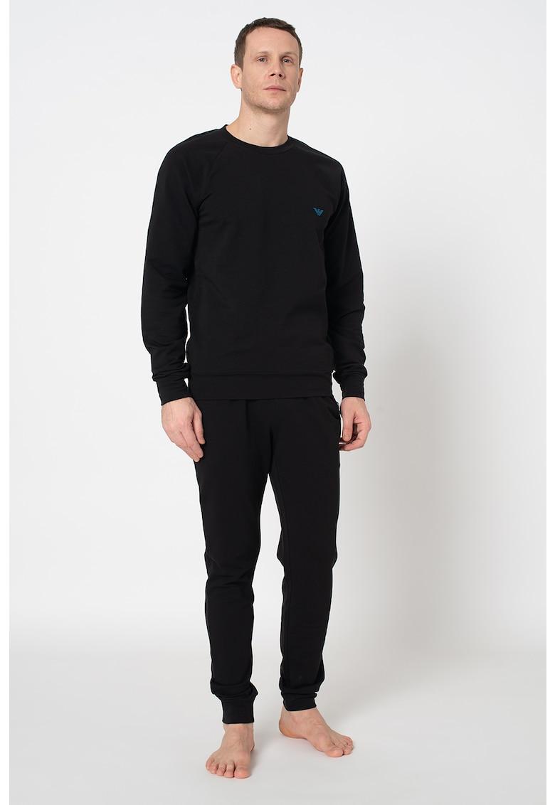 Emporio Armani Underwear Set de bluza sport de casa si pantaloni sport de casa