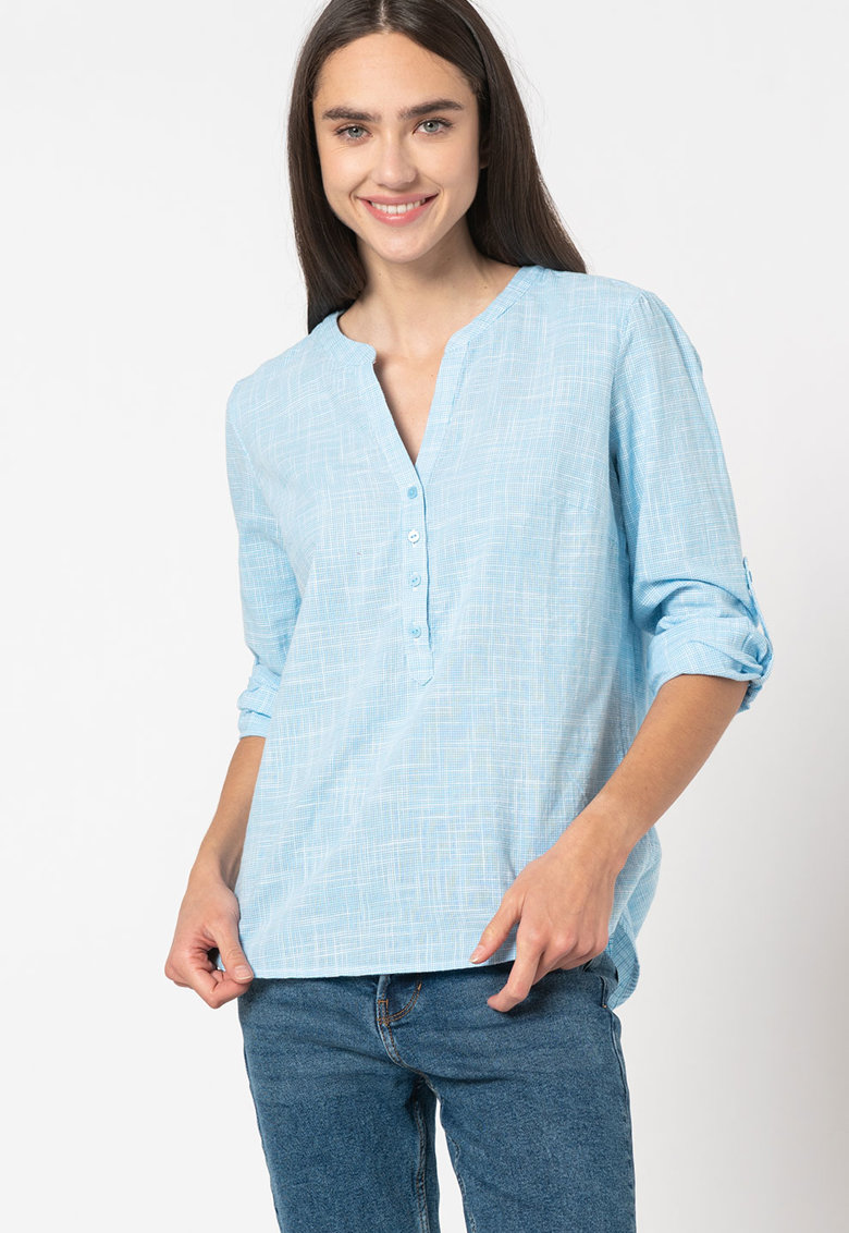 Bluza tip tunica cu model geometric imagine promotie