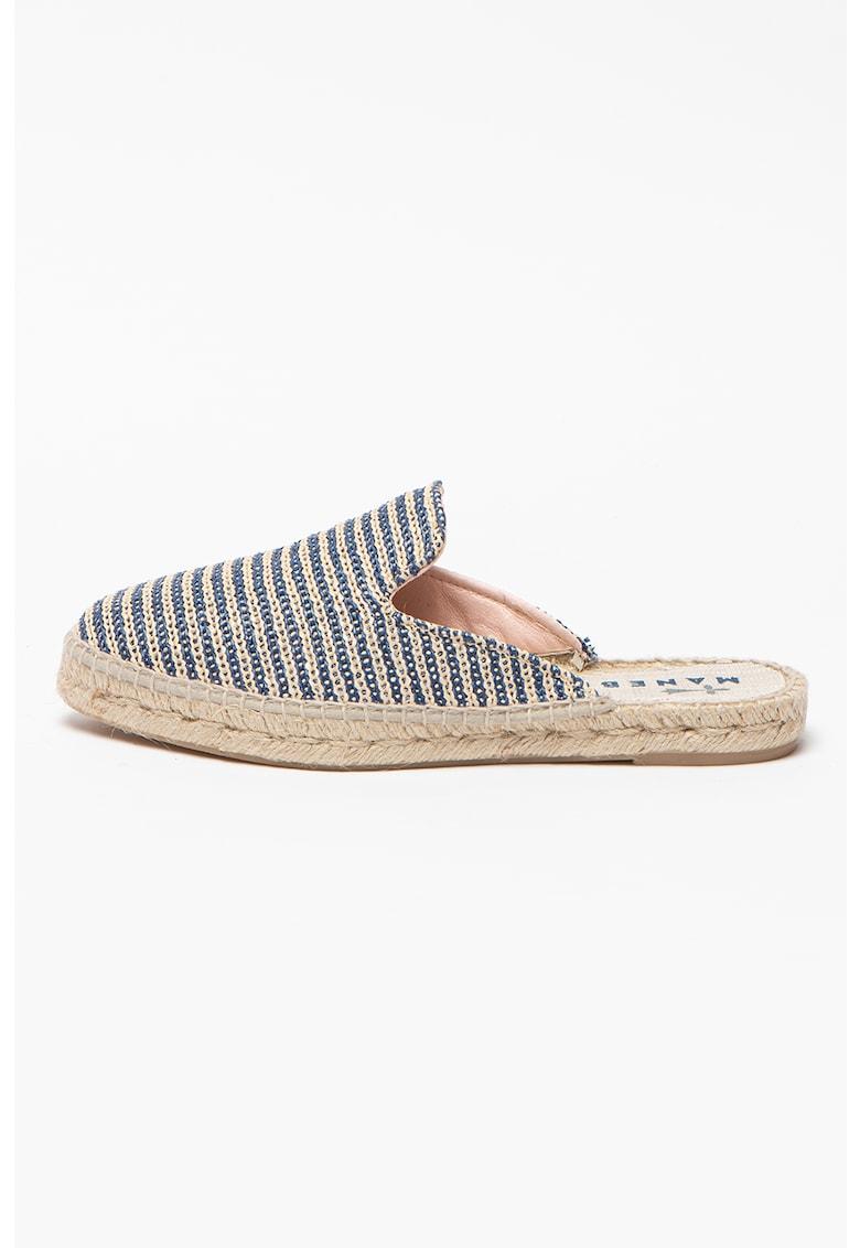 Papuci tip espadrile
