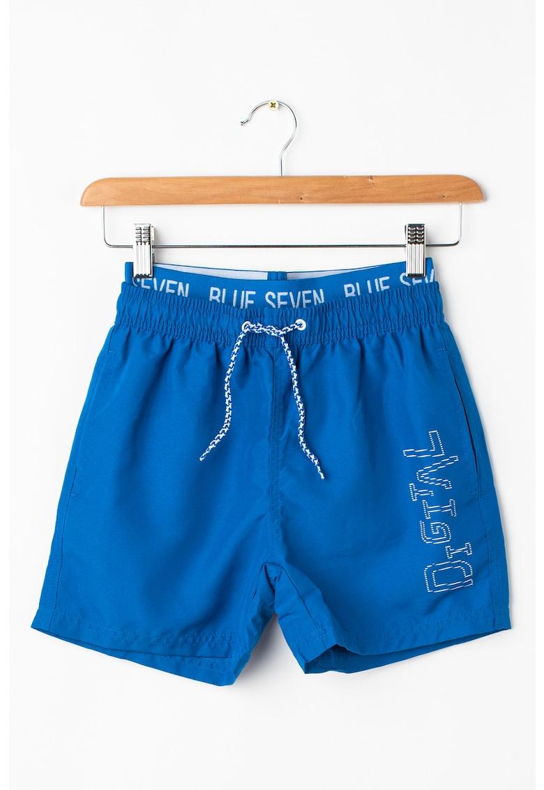 Bermude de baie cu snur imagine fashiondays.ro Blue Seven