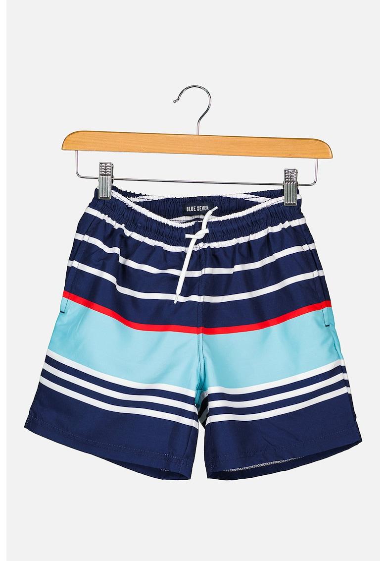Pantaloni scurti de baie cu dungi