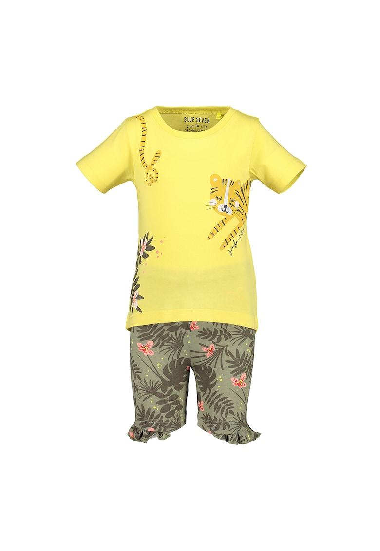 Set de tricou si pantaloni scurti imagine fashiondays.ro