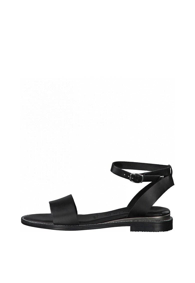 Sandale de piele cu bareta Tamaris fashiondays.ro