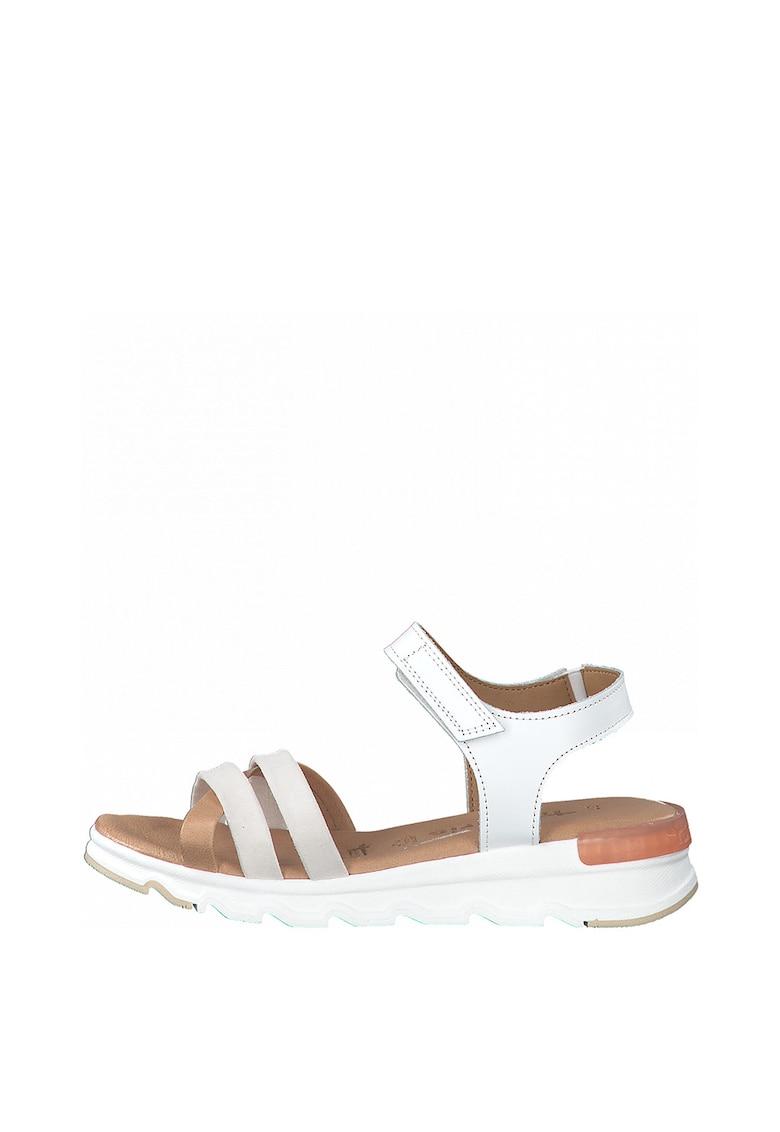 Sandale de piele cu velcro fashiondays.ro
