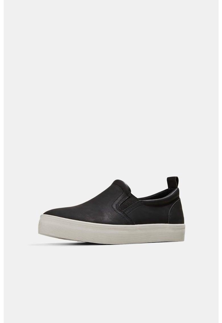 Pantofi sport slip-on din piele ecologica imagine