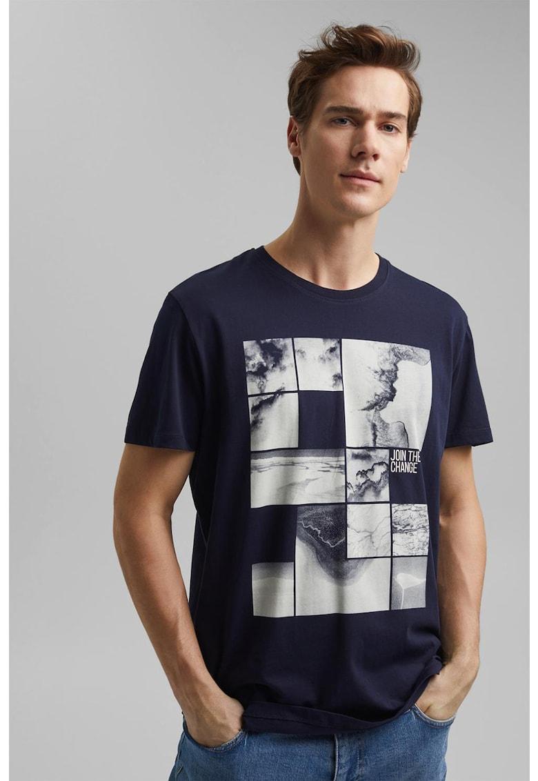 Tricou de bumbac organic cu model grafic