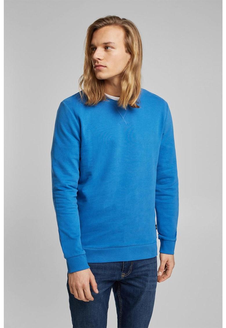 Bluza sport cu decolteu la baza gatului EDC by Esprit fashiondays.ro