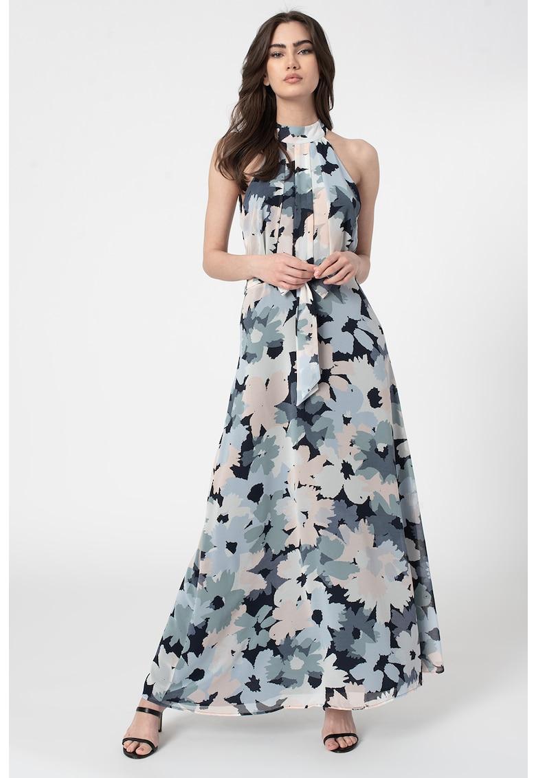 Rochie maxi cu imprimeu floral