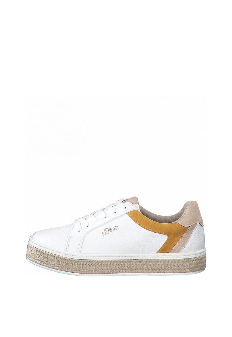 Pantofi sport tip espadrile cu model colorblock s.Oliver fashiondays.ro
