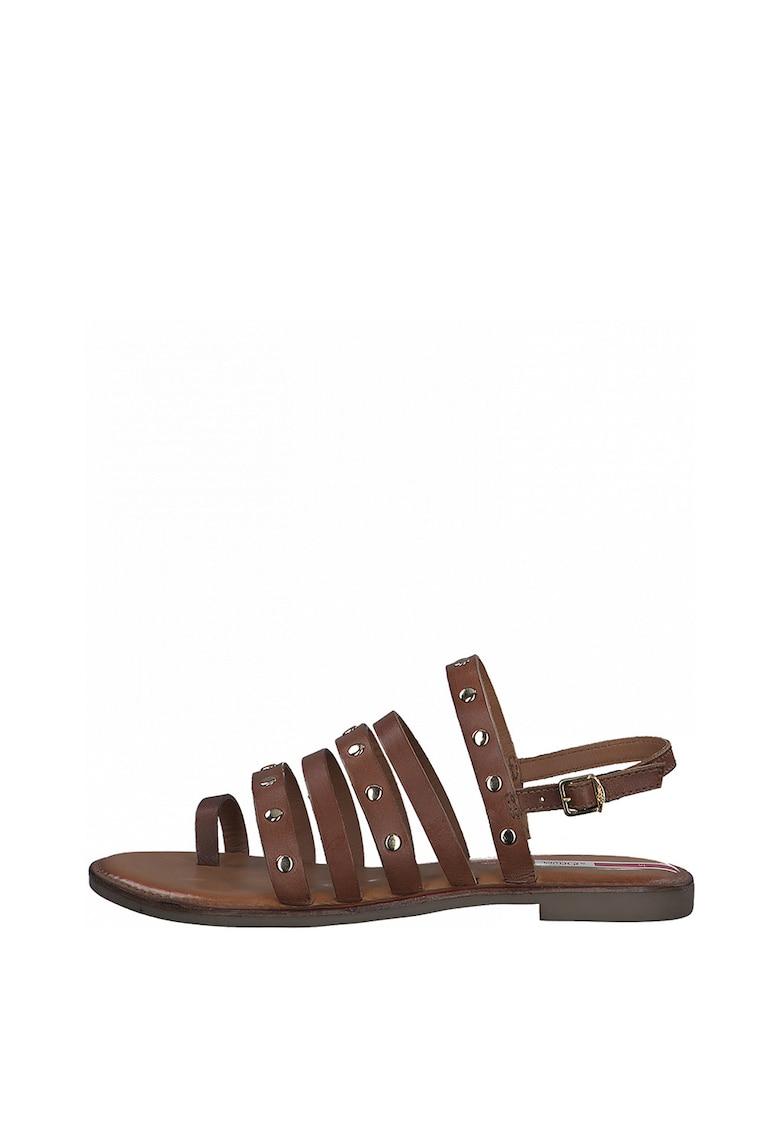 Sandale de piele decorate cu nituri fashiondays.ro