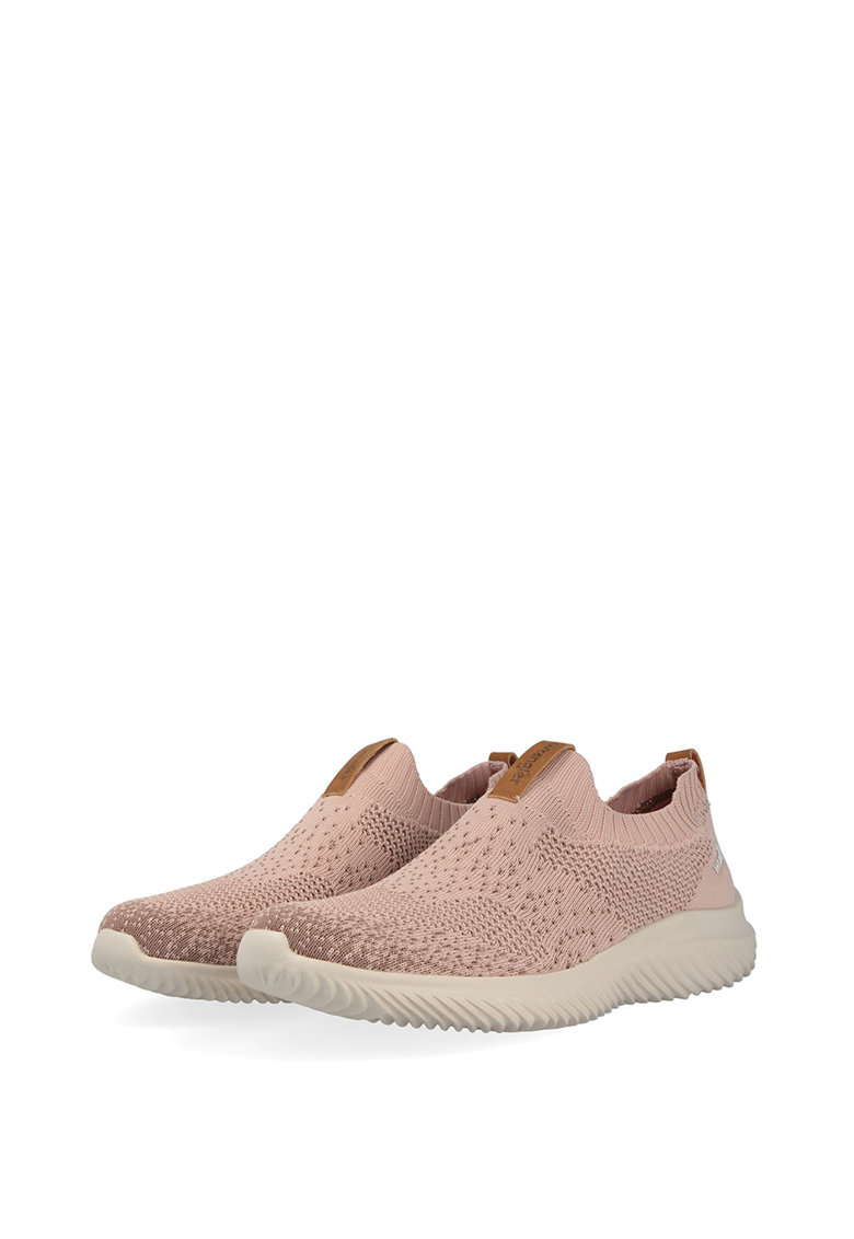 Pantofi sport slip-on din tricot fin Freesbee imagine fashiondays.ro 2021