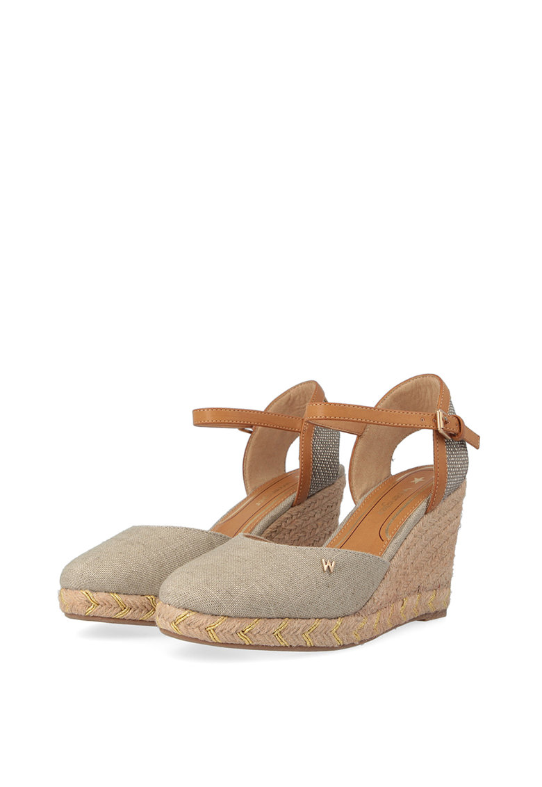 Sandale wedge tip espadrile imagine fashiondays.ro 2021