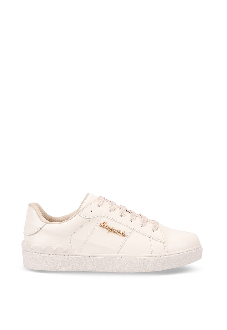 Pantofi sport din piele ecologica si varf rotund poza fashiondays