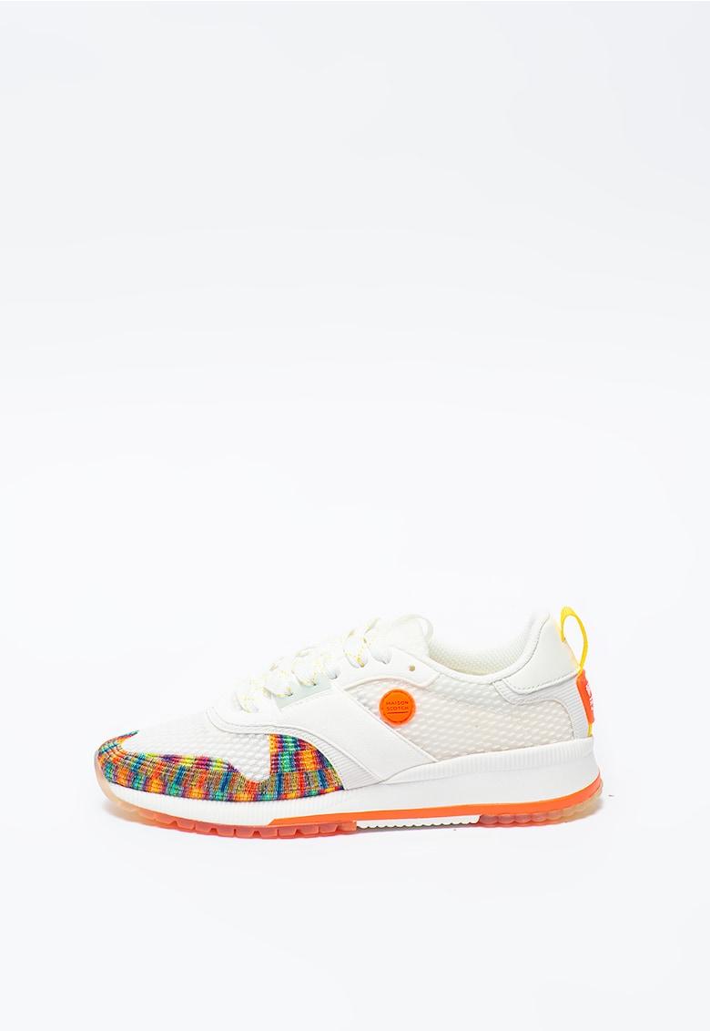 Pantofi sport cu insertii de piele intoarsa Vivi imagine