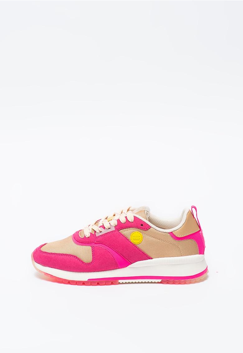 Pantofi sport cu insertii de piele Vivi imagine
