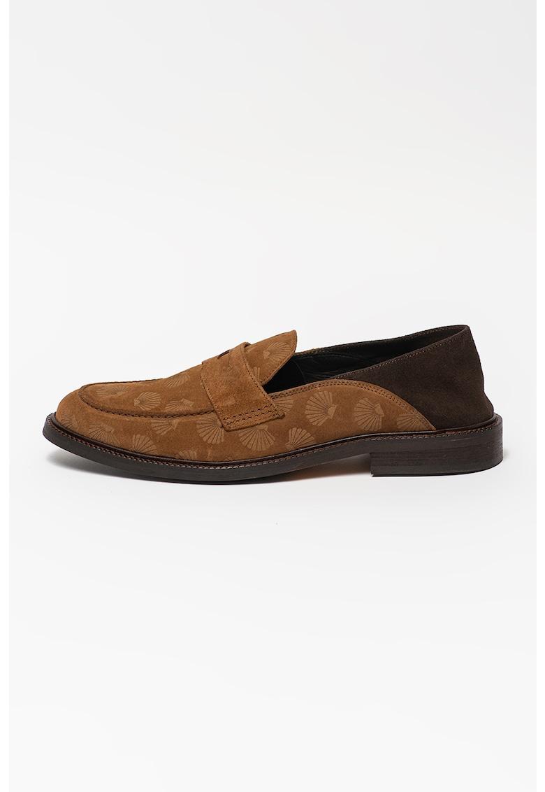 Pantofi loafer de piele intorsa Wylder