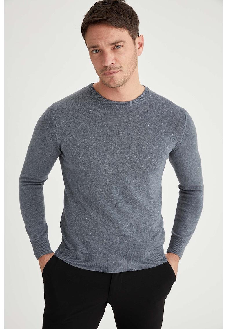 Pulover din amestec de lana si casmir