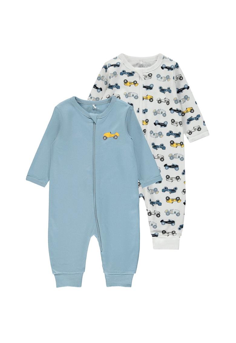 Set de pijamale de bumbac organic - 2 piese imagine fashiondays.ro