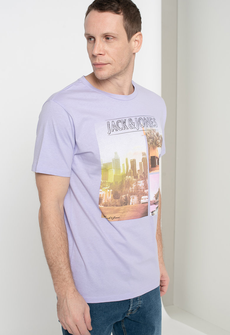 Tricou regular fit Lyric Bărbați imagine