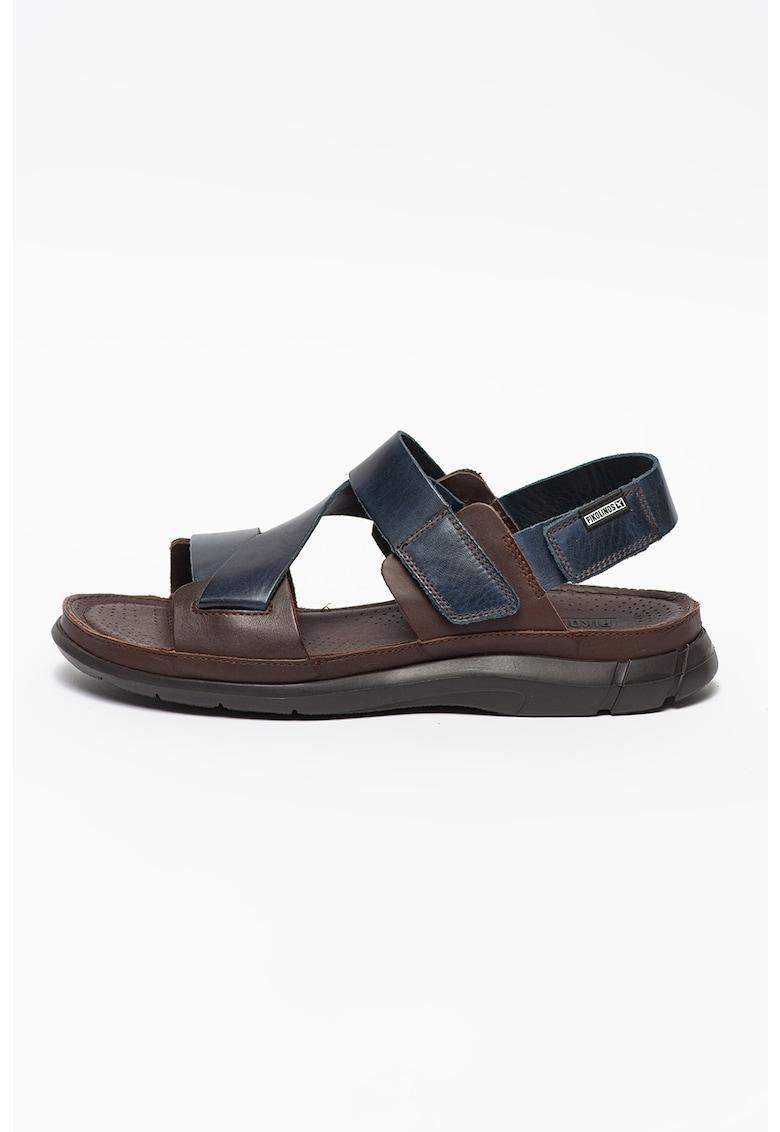 Sandale de piele cu velcro Oropesa