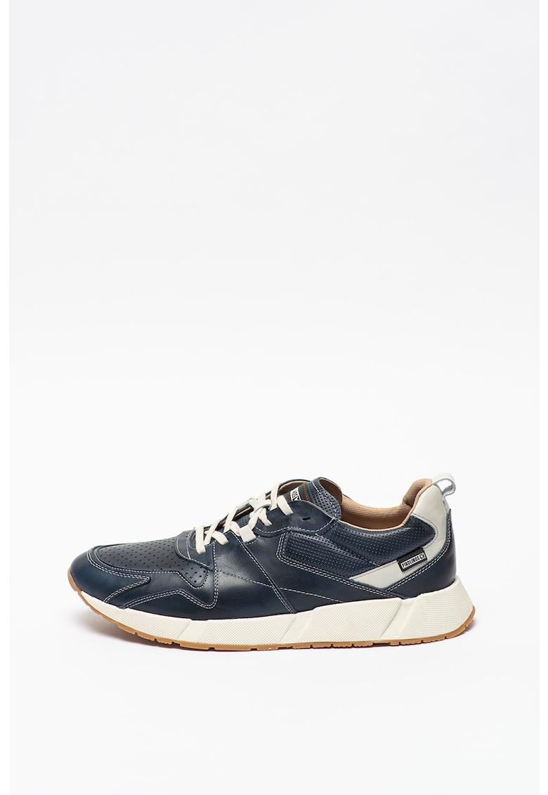 Pantofi sport de piele cu detalii perforate Meliana imagine