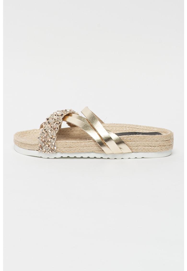 Papuci tip espadrile Keops