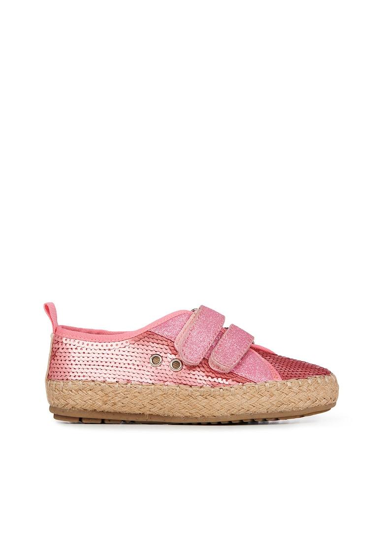 Pantofi cu inchidere velcro si paiete Millner Emu fashiondays.ro