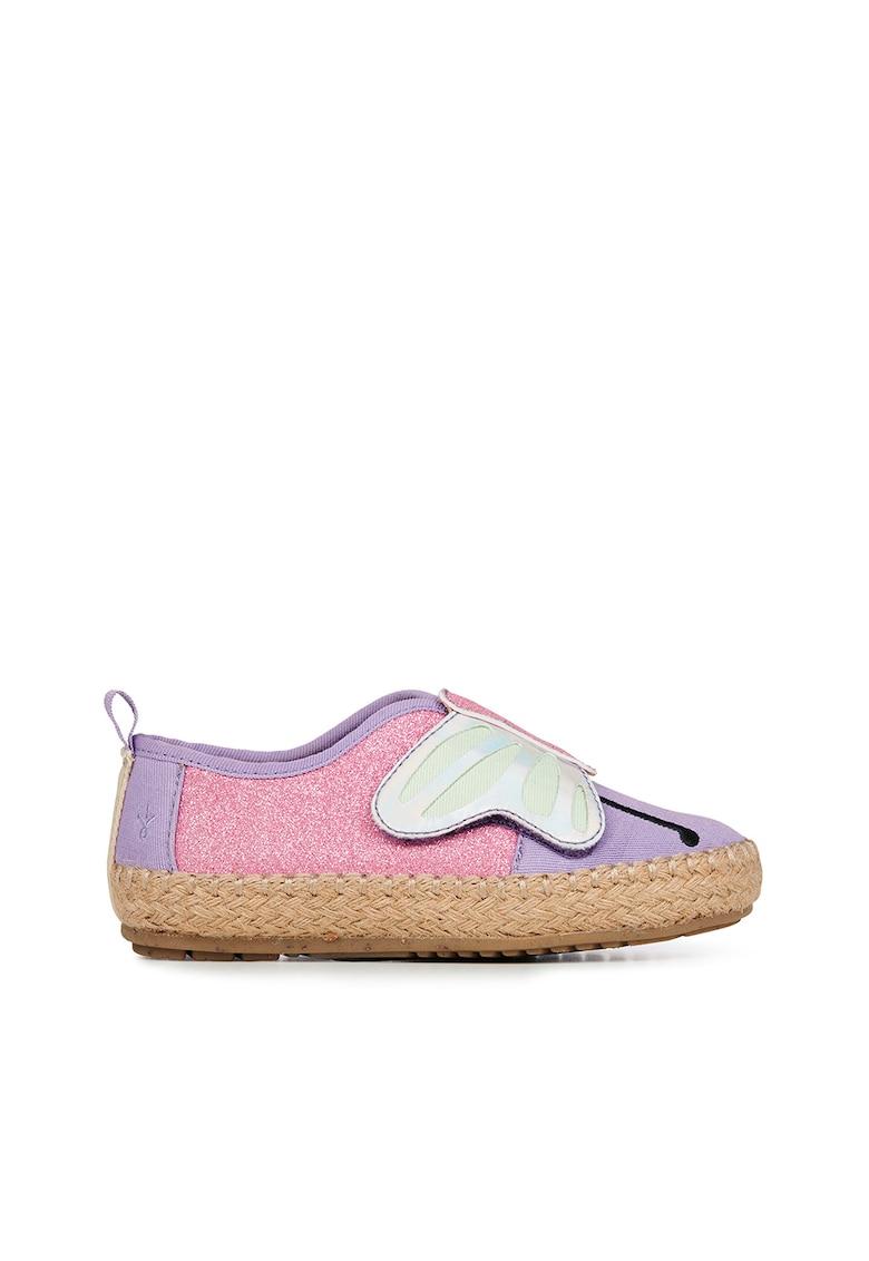 Pantofi loafer cu model fluture Butterfly Nest Emu fashiondays.ro