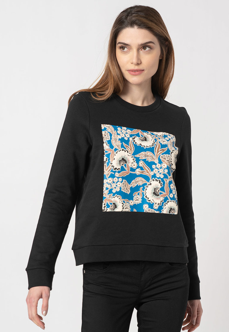 Bluza sport de bumbac organic cu imprimeu Lola