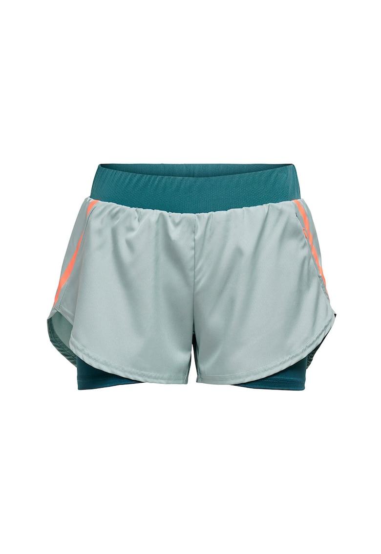 Pantaloni scurti cu buzunare cu fermoar imagine promotie
