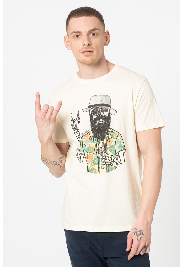 Tricou cu imprimeu grafic Daays Bărbați imagine