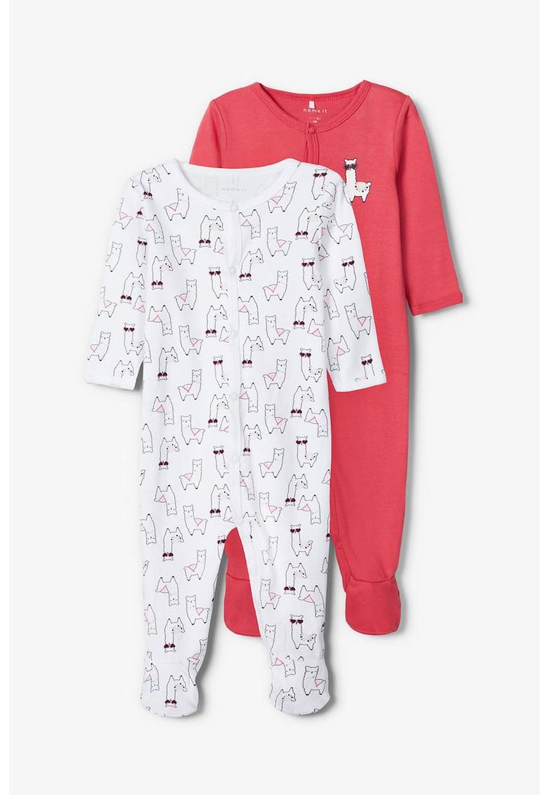 Set de pijamale din bumbac organic - 2 piese