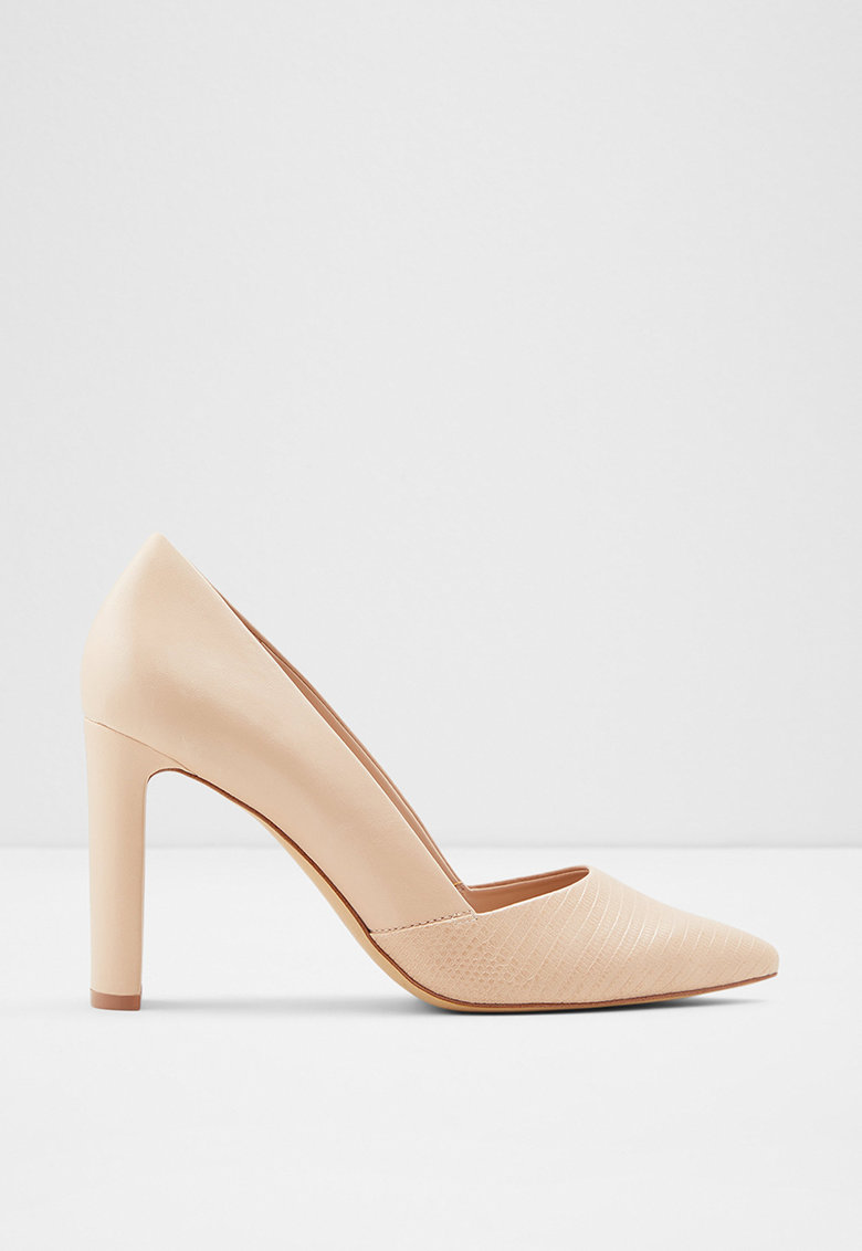 Aldo Pantofi stiletto cu varf ascutit si detaliu cu model piele de sarpe Adworen
