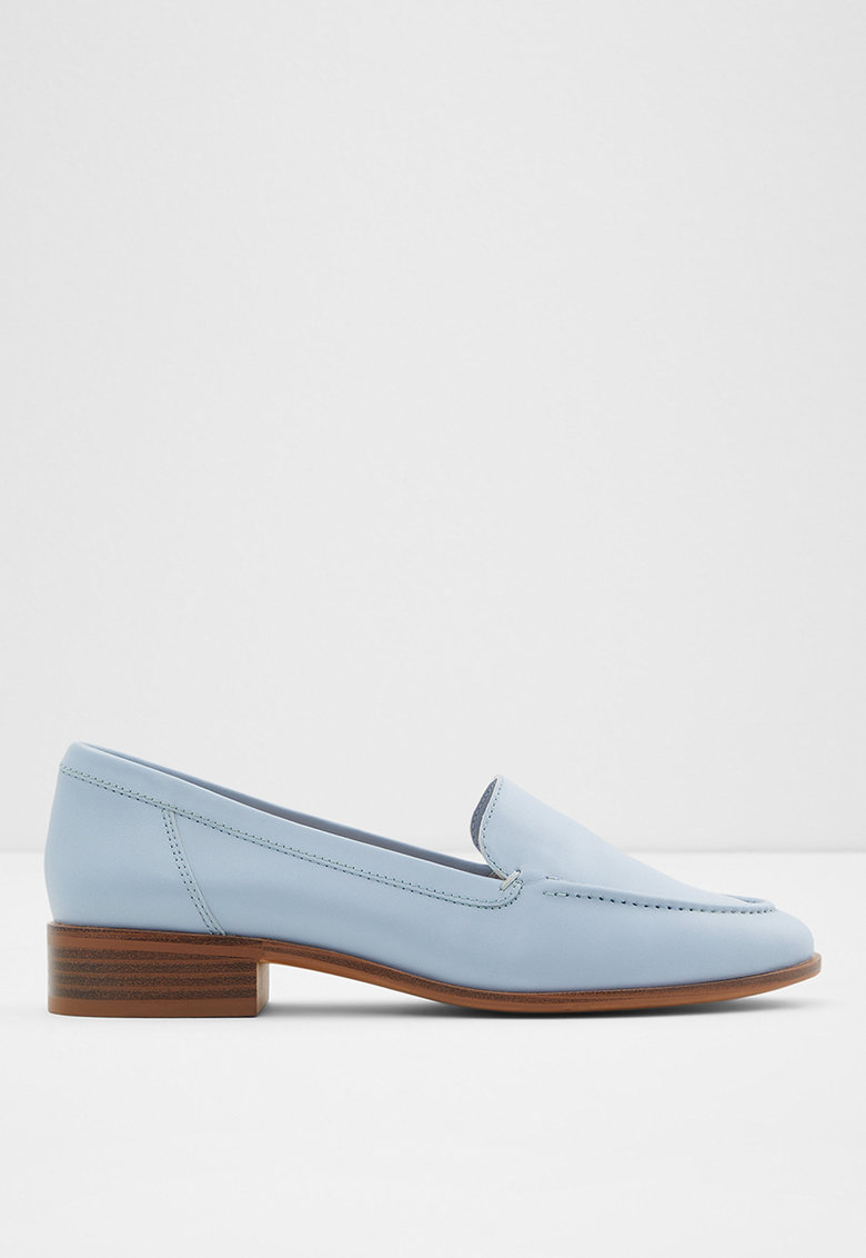 Pantofi loafer de piele - cu toc Gililiaflex de la Aldo