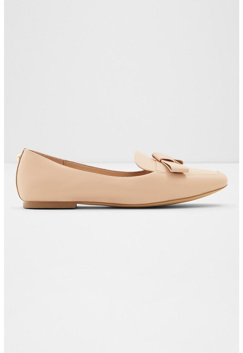 Pantofi loafer de piele cu funda Lemonnier Aldo fashiondays.ro