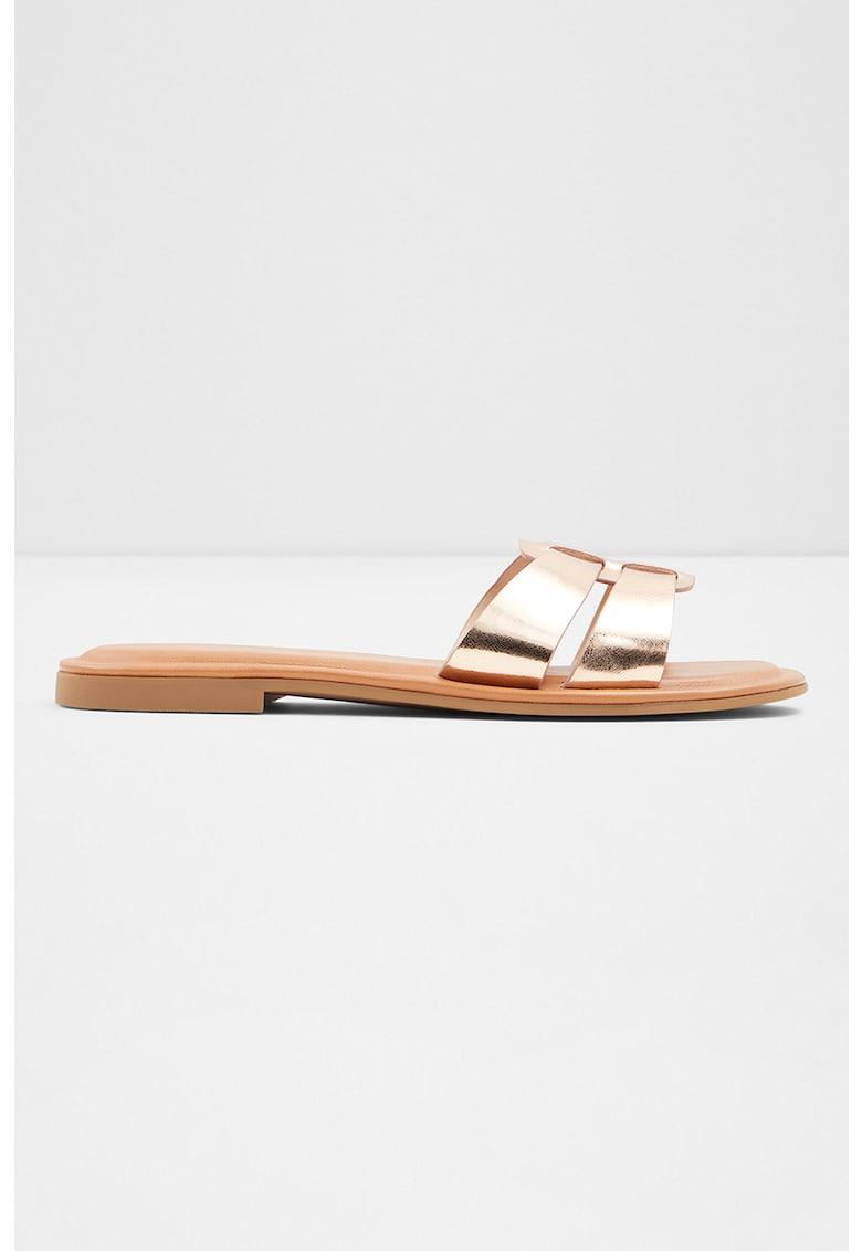 Papuci de piele ecologica Ereswen imagine fashiondays.ro 2021