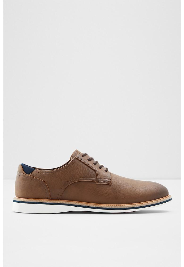 Pantofi Derby de piele ecologica Olirand fashiondays.ro