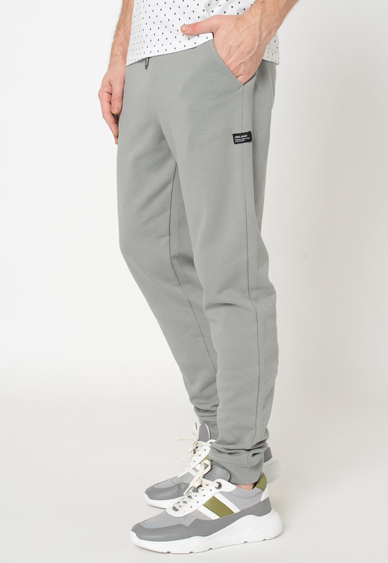 Pantaloni sport de bumbac imagine