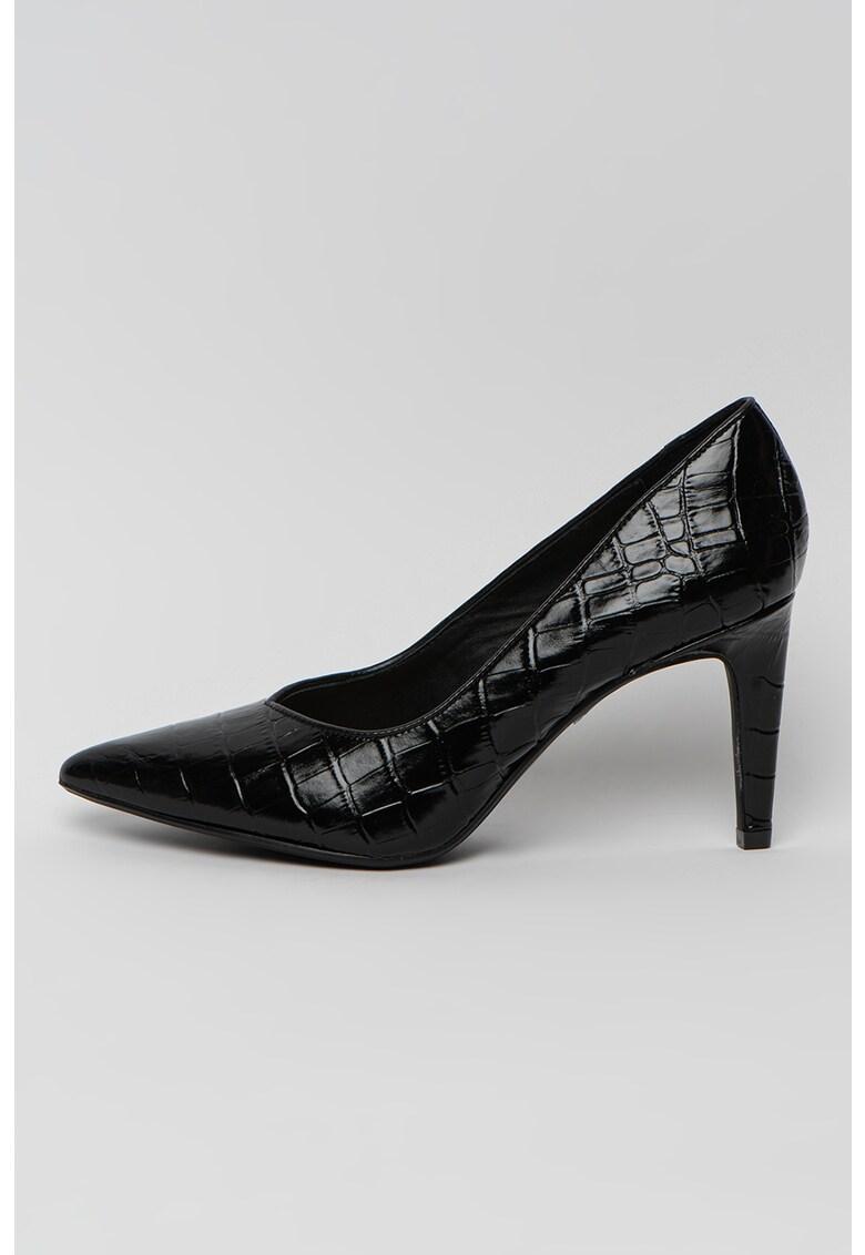 Pantofi de piele cu varf ascutit Genoa 85 Court