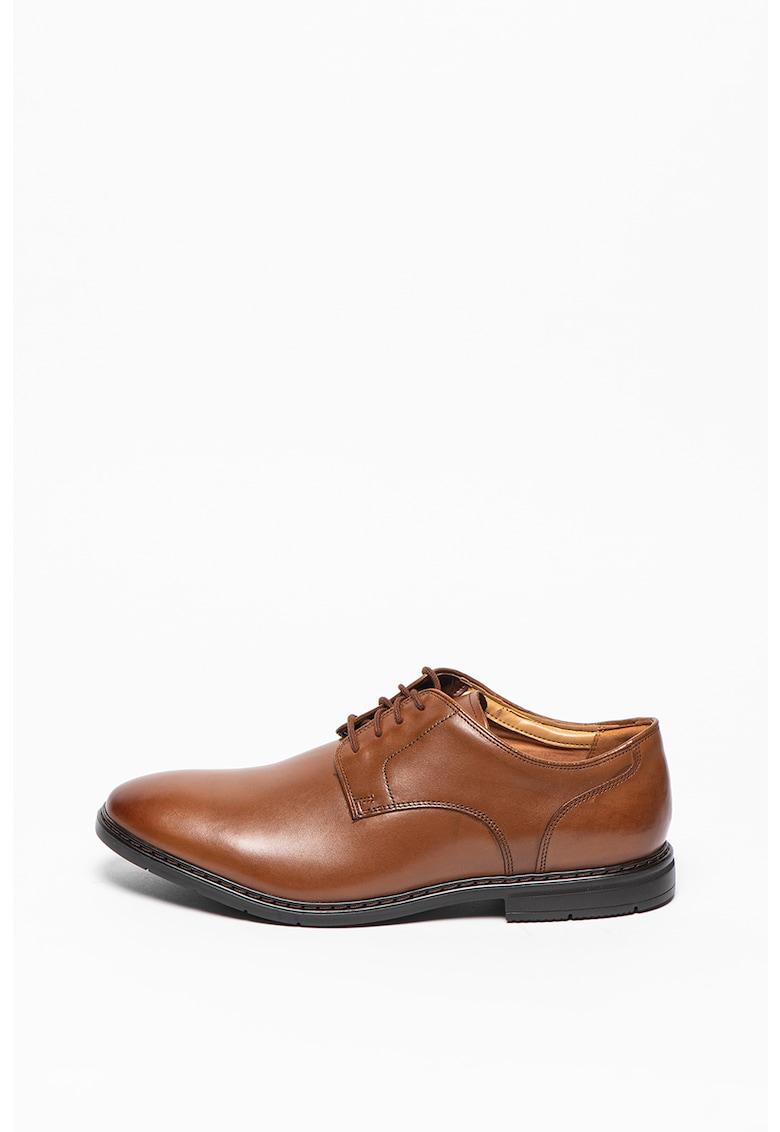 Clarks Pantofi derby de piele Banbury Lace