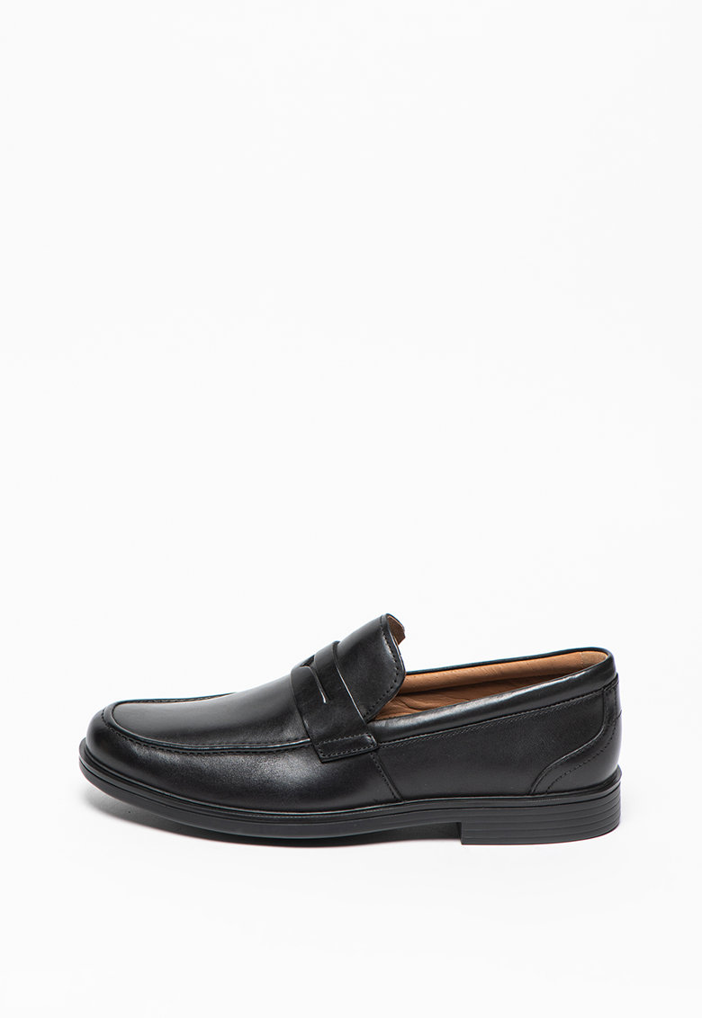 Pantofi loafer de piele Un Aldric Step imagine