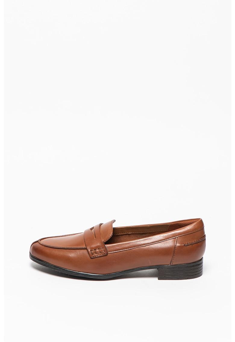 Pantofi loafer de piele Hamble fashiondays.ro