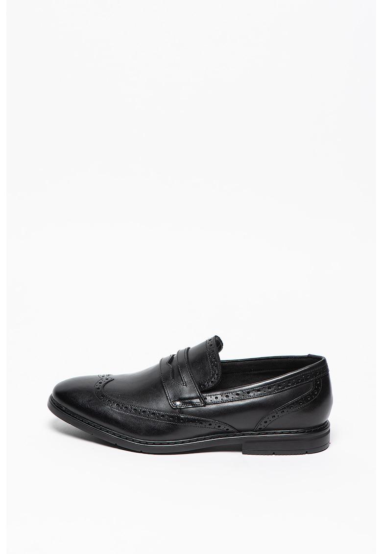 Clarks Pantofi loafer Penny de piele Banbury-Slip