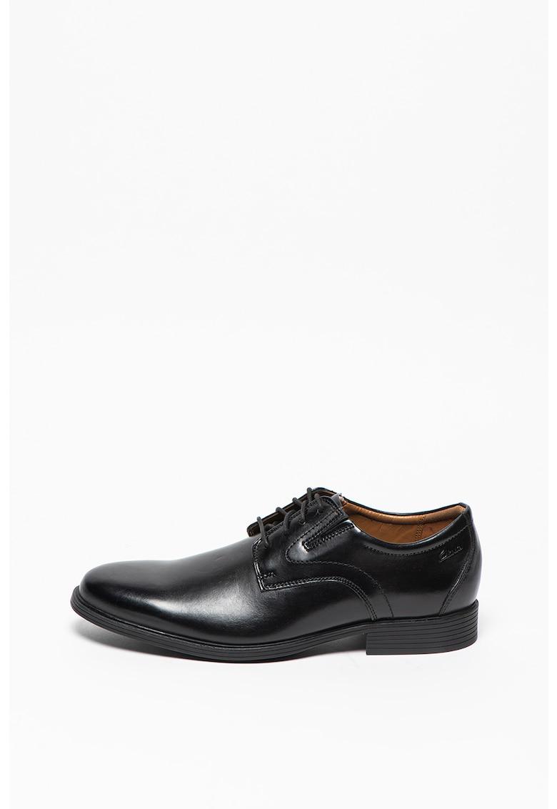 Pantofi derby de piele Whiddon de la Clarks