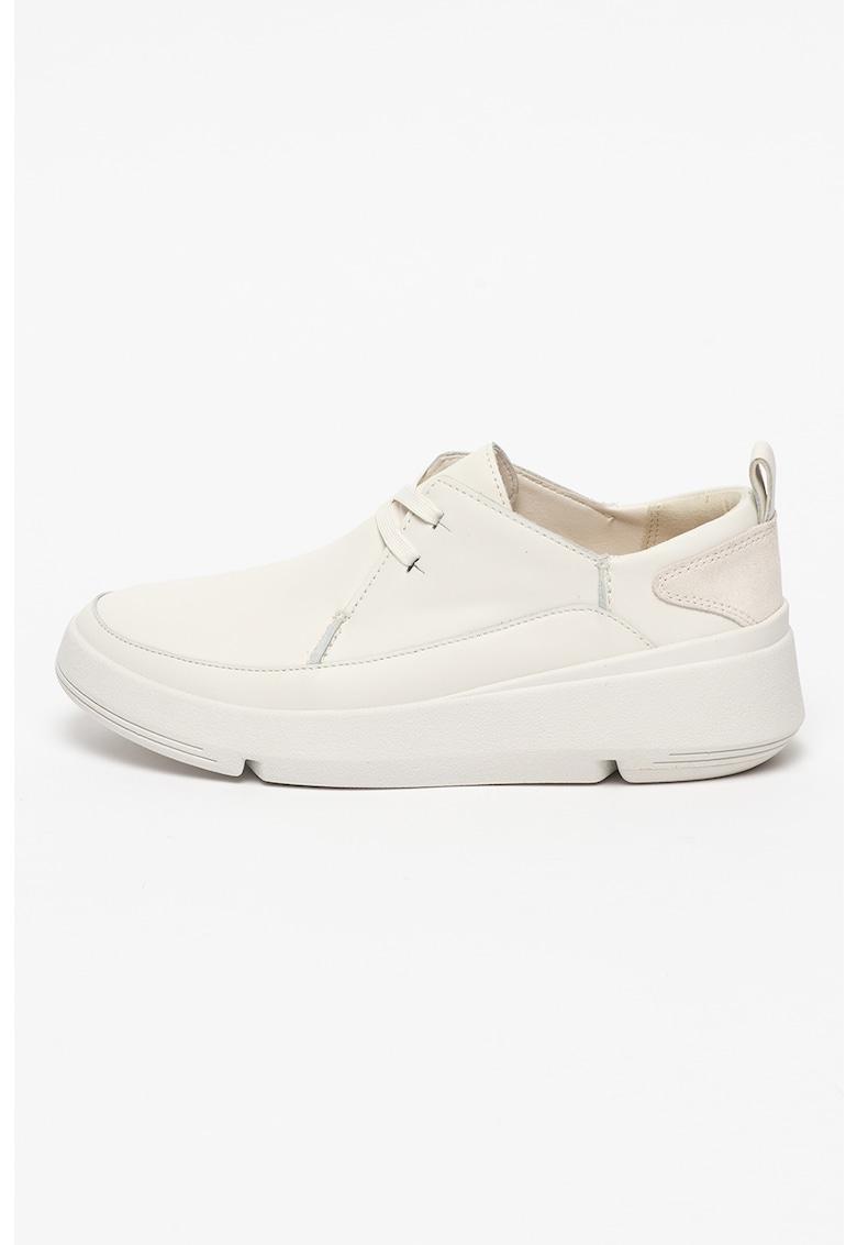 Clarks Pantofi casual de piele Tri-Flash Walk